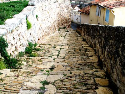 stone pathway in France