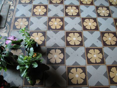 nineteen century French tiles