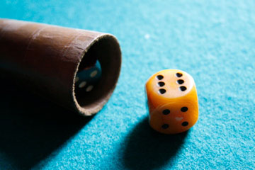 Rolling-of-the-dice
