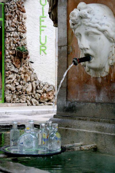 fountain in Cotignac