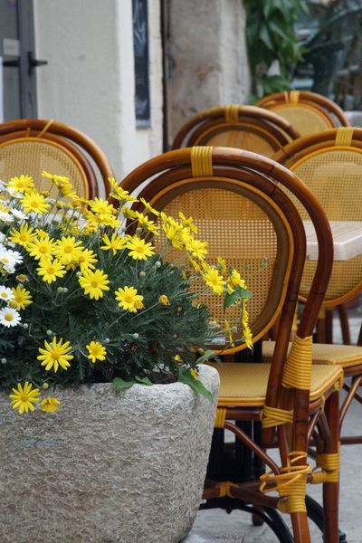 Yellow-bistro-chairs