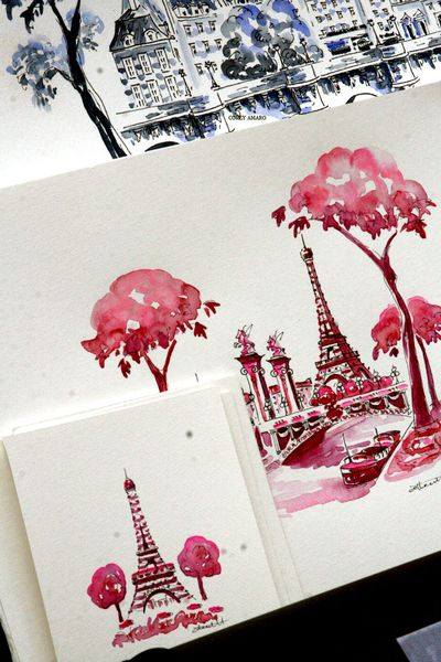 Pink-eiffel-tower