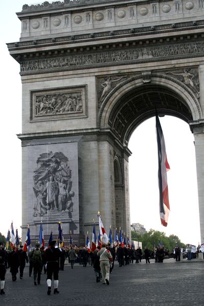 veteran's day in paris