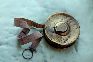 Antique-tape-measure