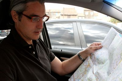 Map-and-glasses