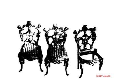 Three-chairs