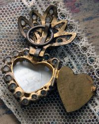 French brocante Open-heart