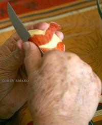 Peeling-an-apple