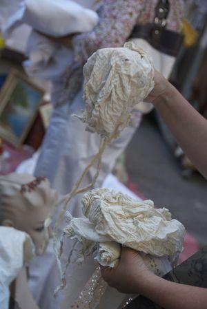 lace bonnets
