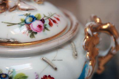 Painted-sugar-bowl