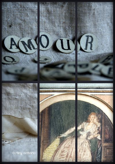 Amour collage