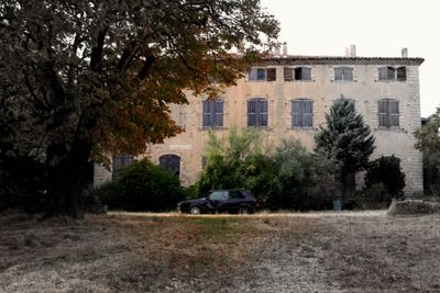 Provence abandoned chateau