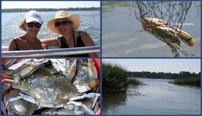 May river crabbing