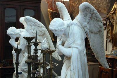 Sacred Heast antiques angels