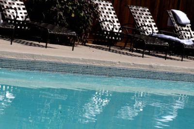 Austin Spa outdoor pool