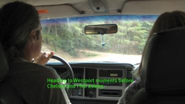 Driving to Westport
