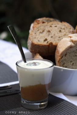 Yogurt with lavender