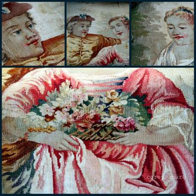 Aubusson collage