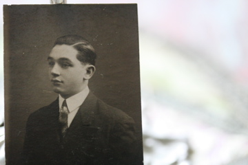 Young man with a tie