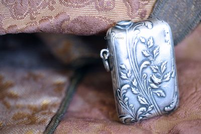 antique silver curiosity