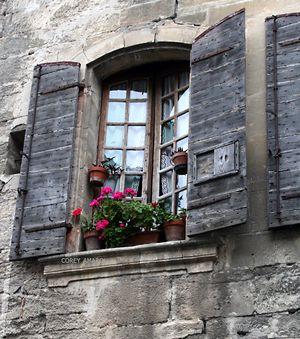 Wooden-shutters