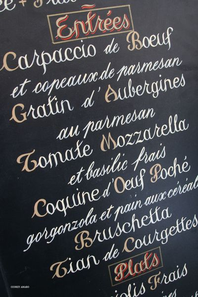 French-menu