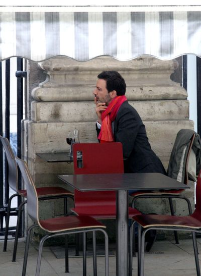 Man-with-a-red-scarf