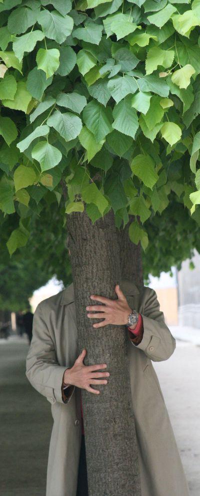 Hugging-a-tree