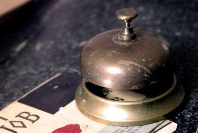 Hotel-bell-bronze