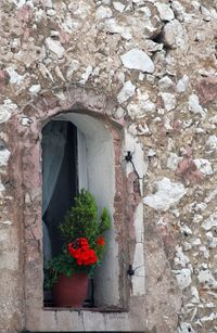 stone window-sill