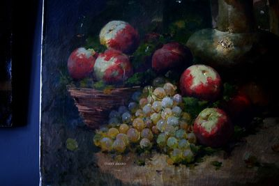 Painting-of-fruit