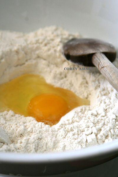 Egg-and-flour