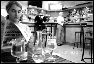 bar in France
