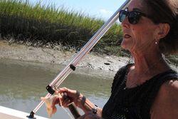 Julia teaches crabbing