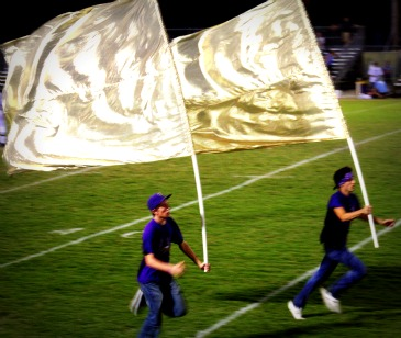 Running the flags