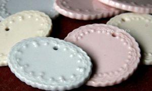Porcelain tags