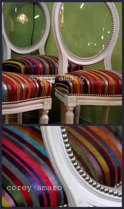 Modern chairs clear backs
