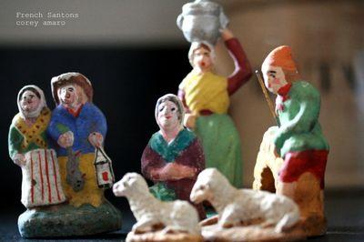 Santons antiques France