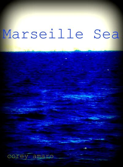 Marseille sea blue