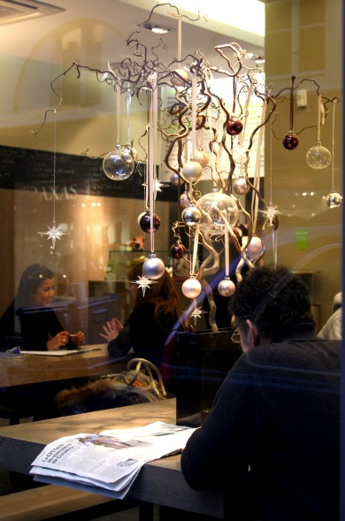 Christmas cafe france C