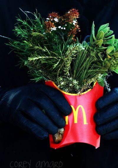 Slow food bouquet