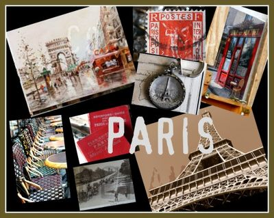 Paris corey amaro collage
