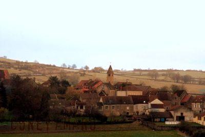 Village france train