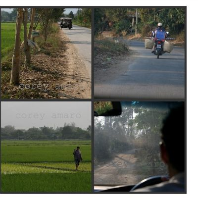 Back roads thailand