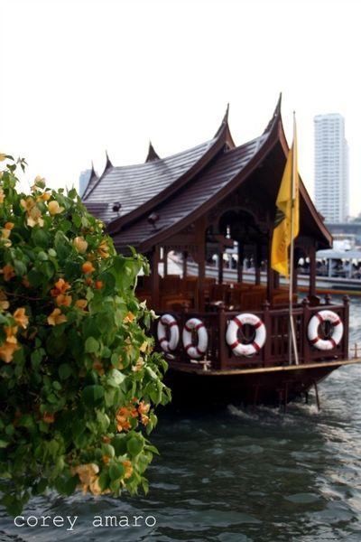 Oriental hotel boat, corey amaro