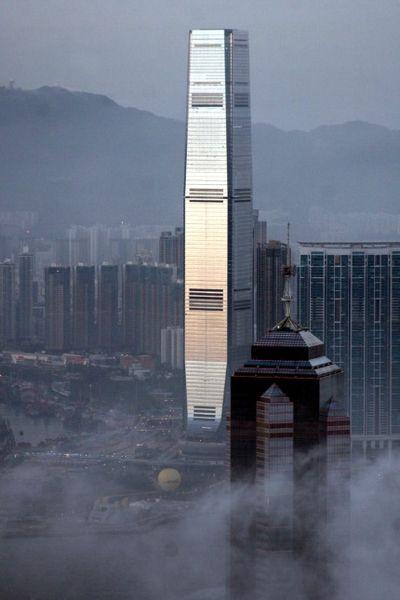 Hong Kong Skyline Modern