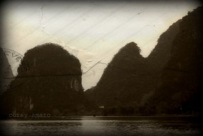 Dragon teeth mountains yangshuo