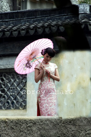 Old style china girl