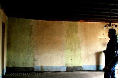 Inside the farmhouse