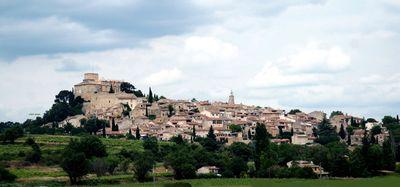 Village-hillside